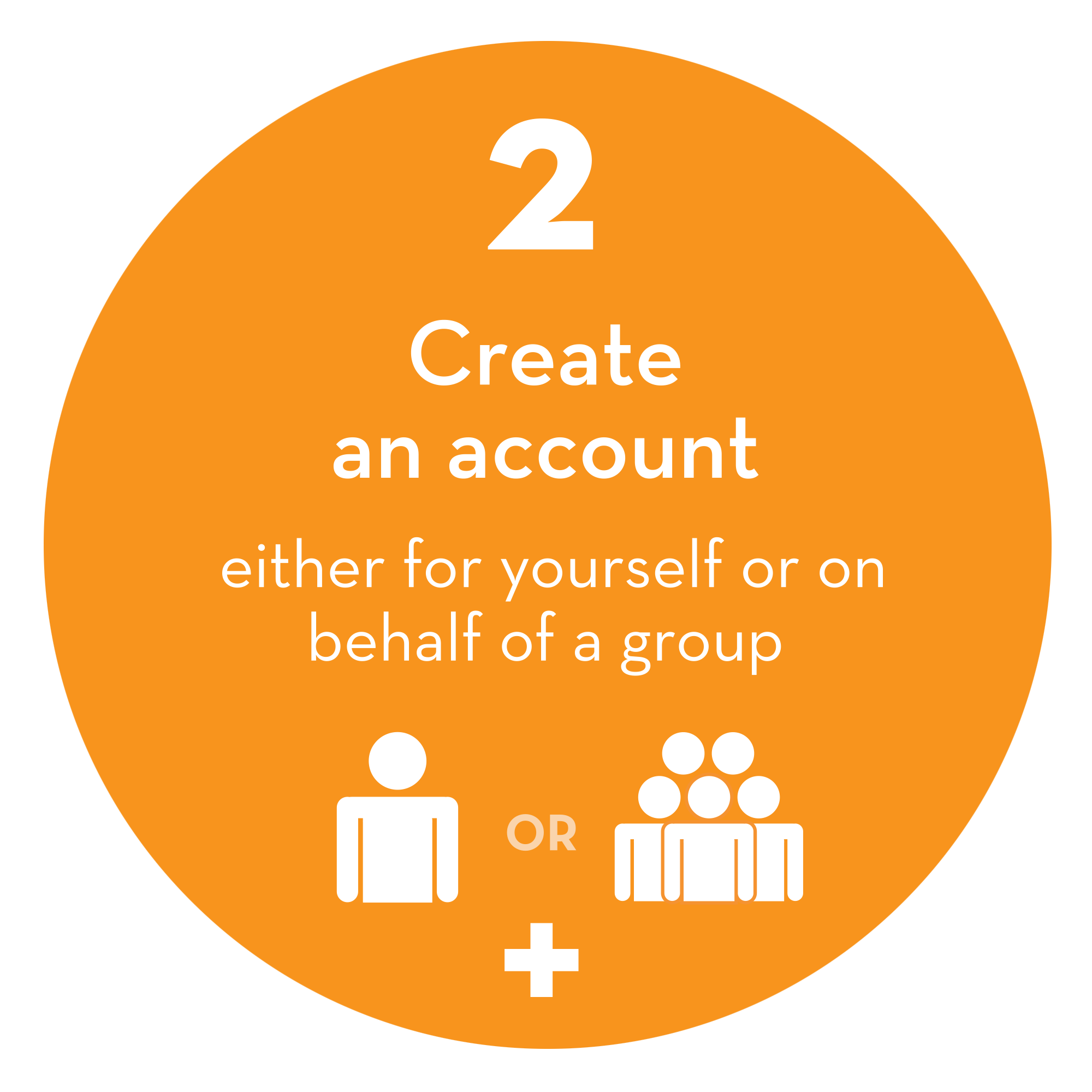 Step 2: Create an account